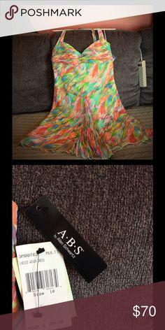 Beautiful dress Halter dress. ABS Allen Schwartz Dresses