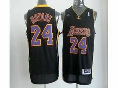 42eb5b86c NBA Lakers  24 Kobe Bryant Black With Purple NO. Stitched Jersey Nba Los  Angeles
