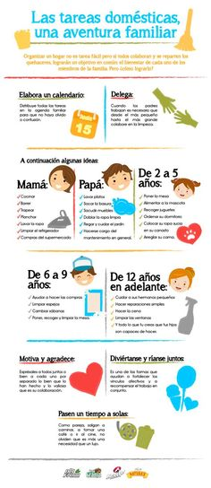 Las tareas domésticas, una aventura familiar 4 Kids, Children, Casa Patio, Chores For Kids, Teaching Spanish, Kids Education, Kids And Parenting, Clean House, Cleaning Hacks