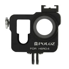 PULUZ Housing Shell CNC Aluminum Alloy Protective Cage with 37mm UV Lens Filter