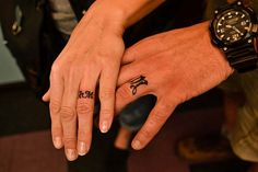 Ring and Finger Tattoos