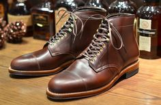Alden X Leather Soul The Vanguard Boot