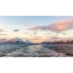 Leaving the Faroe Islands as the sun sets. #visitfaroeislands #faroeislands  #snow #mountians #mothernature #nature_perfection #naturelover #outdoors #explore #adventures #wanderlust #traveling #travelgram #mytravelgram #instatraveling #instatravel #traveler #vsconature #igtravel #worldcaptures #fishing #traveltheworld #travelphotography #lostinamoment #bestplacestogo #natgeotravelpic #mgplife #atlanticairways #landscape_lovers
