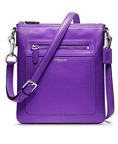 COACH LEGACY LEATHER SWINGPACK - Crossbody & Messenger Bags - Handbags & Accessories - Macy's