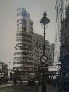 Plaza de Callao (años 50).