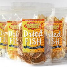 Dried Fish Combo Pack # 1 - FREE SHIPPING