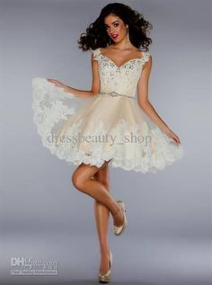 short dress with sleeves prom 2016/17 » MyDresses Reviews 2017