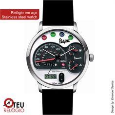 Mostrar detalhes para Relógio de pulso OTR VESPA MOTO 007