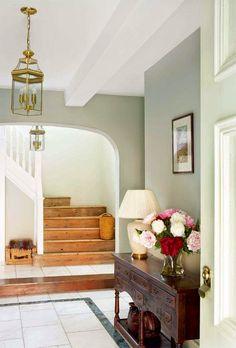hallway, arched doorways