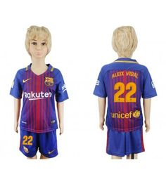 Barcelona Jordi Alba Home Kid Soccer Club Jersey Fc Barcelona, Football Jerseys, Baseball, Jordi Alba, Kids Soccer, Nfl, 18th, Shopping, Club