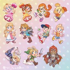 Nintendo Characters, Video Game Characters, Female Characters, Metroid, Princesa Daisy, Overwatch, Mother Games, Nintendo Sega, Nintendo Games