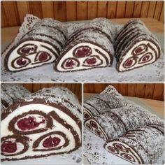 Meggyes-kókuszos keksztekercs! Egyszerű elkészíteni!