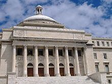 The Capitol of Puerto Rico, home of the Legislative Assembly in Puerto Rico.