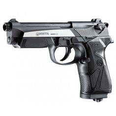 baretta handguns | PISTOLA BERETTA DE CO2 90TWO DARK OPS CALIBRE 4.5 MM