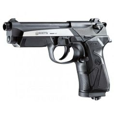baretta handguns | PISTOLA BERETTA DE CO2 90TWO DARK OPS CALIBRE 4.5 MM