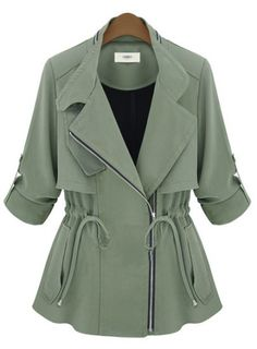 Army Green Coat