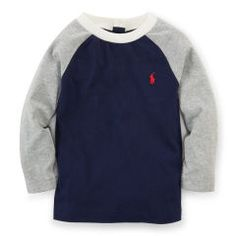 Cotton Baseball Tee - Baby Boy Tees & Sweatshirts - RalphLauren.com