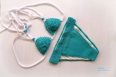Crochet bikini  Crochet swimsuit  Crochet bathing suit