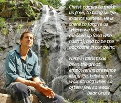 One of the main reasons why Bear Grylls is one of my Hero's
