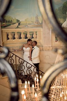 Elegant African-American Wedding at Mansion in New Jersey: Tracey and Lawrence