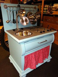 Five More Handmade Play Kitchens Reader Projects | Apartment Therapy