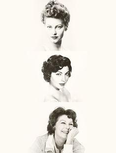 Ava Gardner through the years