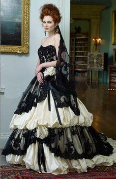 Unique Black Lace Gorgeous Quinceanera Pageant dress Color Accented Ball Gown