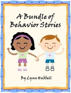 """A Bundle of Behavior Stories"" contains five stories designed to teach and reinforce classroom behavior skills. These stories include  • I Can Follow Directions • I Can Keep My Body Calm • I Can Stop and Think • I Can Use My Classroom Voice • I Am a Learner. Worksheets and visual supports are included. $"