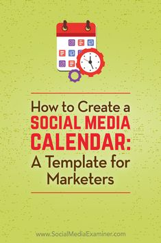 Discover how to set up a content calendar to plan, organize, and publish your social media content.