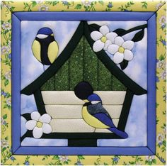 "Happy Home Quilt Magic Kit-12""X12"""