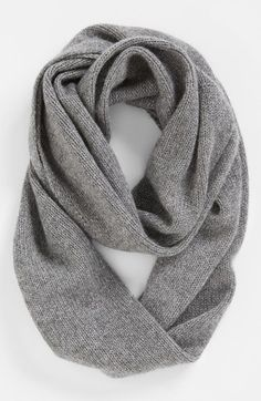 I might ask Sean for this for Christmas; Nordstrom 'Touch of Sparkle' Cashmere Infinity Scarf