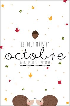Happy New Year 2019 : QUOTATION - Image : As the quote says - Description Carte postale octobre Agenda Planner, Happy Planner, Bujo, Agenda Organization, Mood Instagram, Planner Inserts, Diy And Crafts, Printables, Lettering