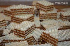 Karamelové oplátky - grilážky (fotorecept)