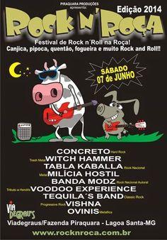 Lêda Rocker: Noticias do Rock N'Roça 2014