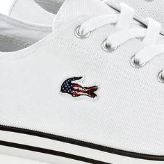 Fancy - L27 USA Flag Sneakers by Lacoste