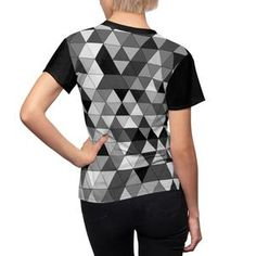 Grey And White, T Shirts For Women, Fabric, Mens Tops, Collection, Fashion, Tejido, Moda, Tela