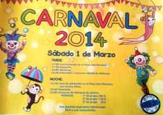 #Carnaval en #Calpe sábado 1 de marzo ¿Te lo vas a perder? Nosotros no!!!