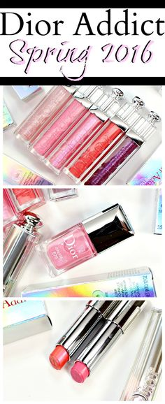 Dior Addict Ultra-Gloss & Cruise Collection Swatches + Review // Spring 2016