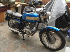41 year old Ducati. Bought new for £649 from West Hill Motorcycles, Wandsworth. In as good as new condition.
