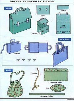 Simple patterns of bags