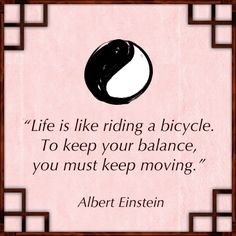 Every movement takes you in a different direction. Make conscious decisions... then GO!