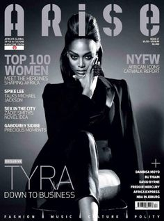 Tyra Banks en Arise #17