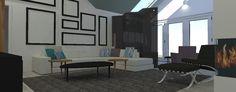 Hot House, Portfolio Images, 3d Visualization, Divider, Interior Design, Room, Furniture, Home Decor, Nest Design