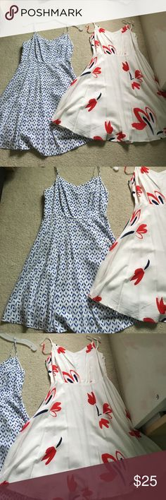 Dress bundle Two beautiful  dresses. Price for both. Hardly ever worn. Old Navy Dresses