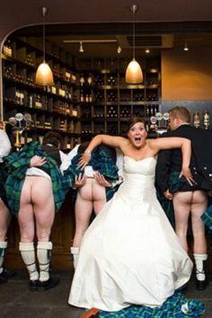 Tartan Spirit Wedding Dress   Stacy & Zander - roflmbo!!! I love her dress...didn't spot this...Bruce did! Will post her dress too...