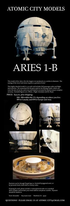 This is for you if you love building really big models and love 2001-A Space Odyssey!