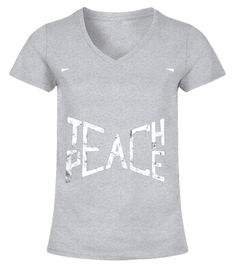 Teach Peace and Get Love - Great Pacifist T-Shirt - Liberal T Shirts Canada, T Shirts Uk, Tee Shirts, T Shirts For Women, Shirt Quotes, T Shirts With Sayings, T-shirt Slogan, T Shirt Fundraiser, Hippie Lifestyle
