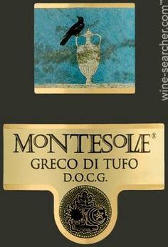 Montesolae Greco di Tufo DOCG, Campania, Italy Wine Searcher, Italian Wine, Wine Labels, Marketing Data, White Wine, Presentation, Geek, Notes, Italy