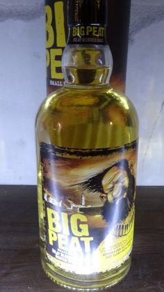 Whisky BIG PEAT Blended Malt 46° 1 Nez - tourbé, fumé pointe de réglisse et délicatement cendré.... 2 Bouche - Epices, poivre, girofle, maritime, sec.... 3 Finale - Bitume, herbes sèches, floral...
