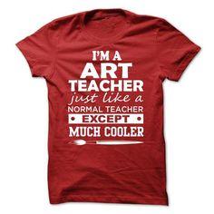ART TEACHER T-SHIRT T-Shirts, Hoodies (19.99$ ==► Shopping Now!)